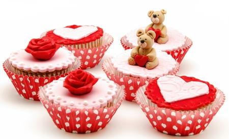 Valentine cupcakes Stock Photo - 17308266