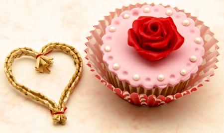 Valentine cupcakes Stock Photo - 17308273