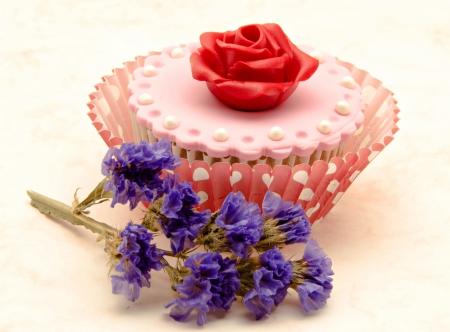 Valentine cupcakes Stock Photo - 17308240