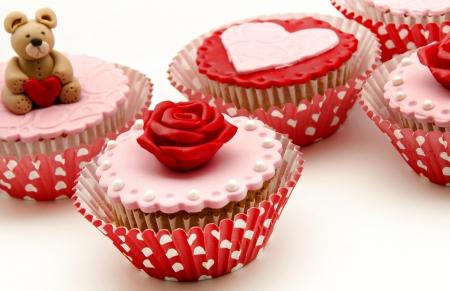 Valentine cupcakes Stock Photo - 17308291