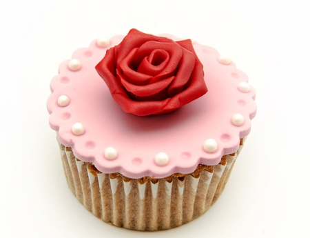 Valentine cupcakes Stock Photo - 17308238