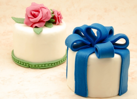 Cake decorated with fondant Stock Photo - 17332903