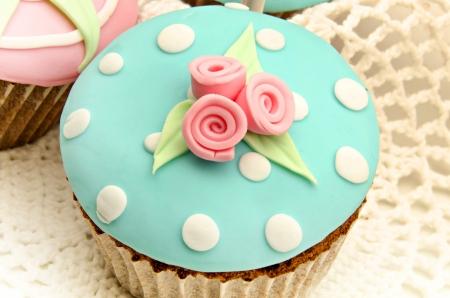 Valentine cupcakes Stock Photo - 17481941