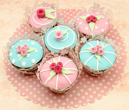 Valentine cupcakes photo