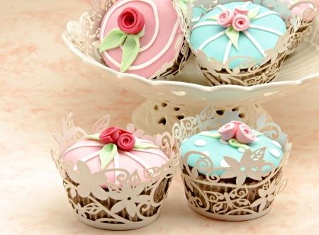 Valentine cupcakes Stock Photo - 17481944
