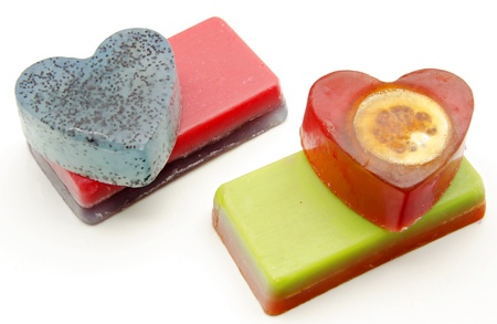 Scented glycerin soaps photo
