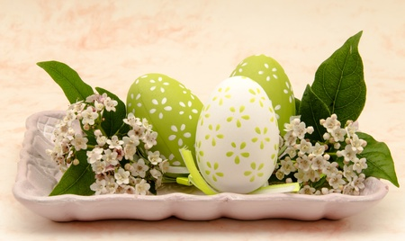 Decorated Easter Eggs photo