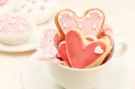 Cookies decorated with wedding Stock Photo - 19256224