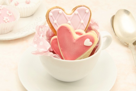 Cookies decorated with wedding Stock Photo - 19256054