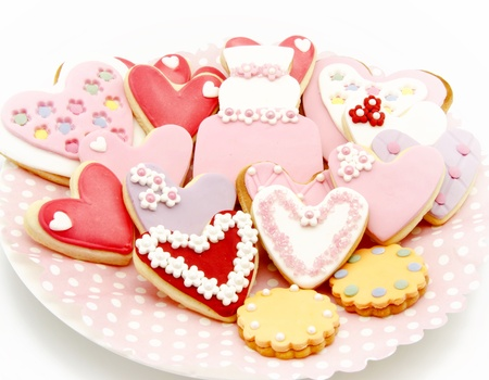 Cookies decorated with wedding Stock Photo - 19256205