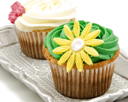 Cupcakes decorated Stock Photo - 20922545