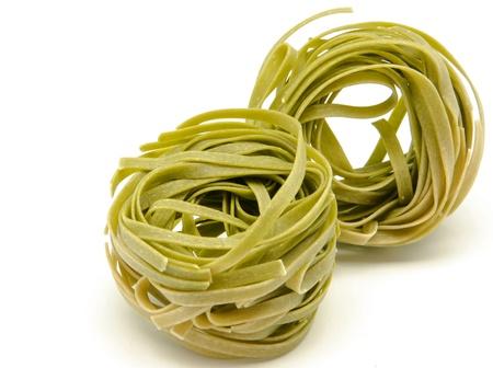 Nest egg Italian pasta photo