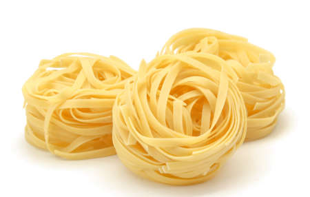 Nest egg Italian pasta photo