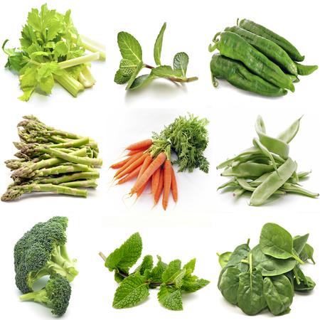 diuretic: Mural of several vegetables