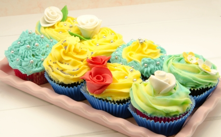 dia de la madre: Cupcakes decorated