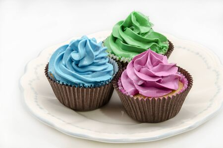 decorated: Cupcakes decorated