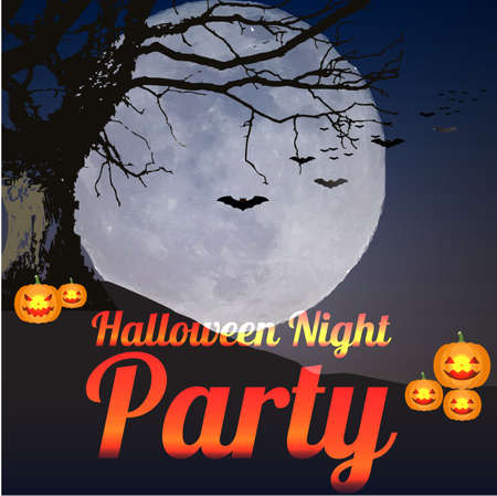 Halloween Night Party.