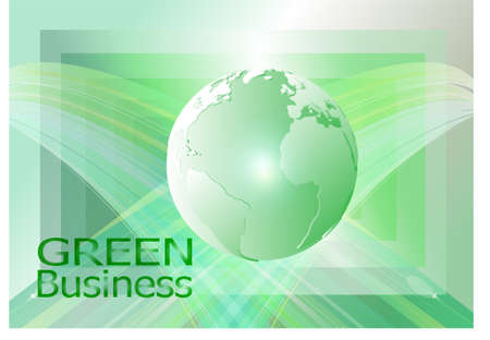 green business background vector. it can be applied for kinds of media.