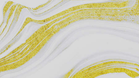 artificial white and gold marble stone texture background. artificial white and gold marble surface for interior and exterior manufacturers use. Foto de archivo