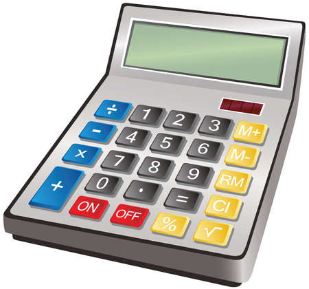 An illustration of a typical desk calculator.