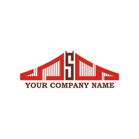 bridge icon Stock Illustratie