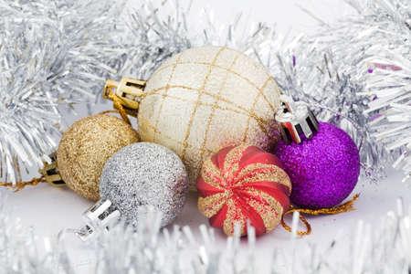 decoration toys for christmas tree Stock Photo