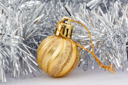golden decoration toy for christmas tree