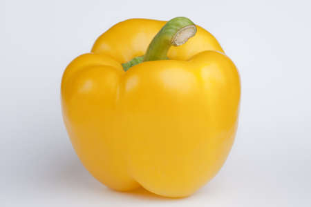 yellow pepper isolated on a white background
