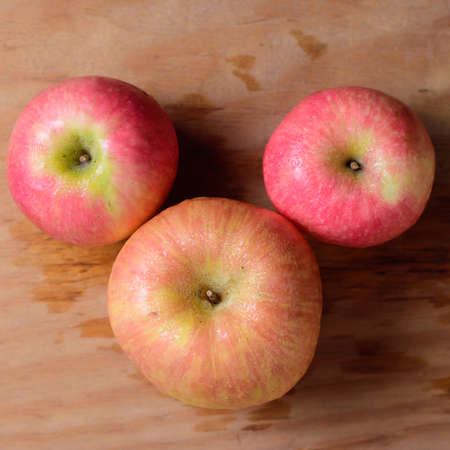 closeups: Apples background Stock Photo