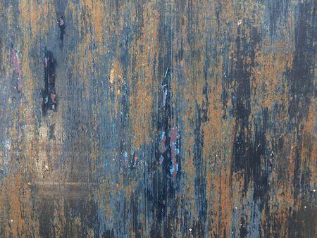 rusty: rusty door