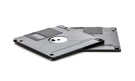 disks: Floppy Disks isolated on white background