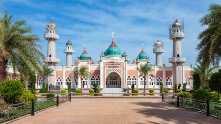 23 June 2016 Pattani Thailand - The Central Mosque Pattani in Southern of Thailand is under reconstruction Editorial