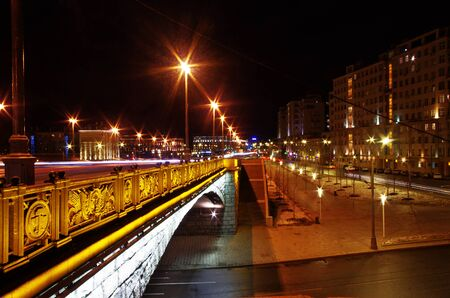 Big Spassky bridge Stock Photo