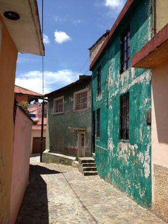 Mexico alleyway Stock fotó - 20839236