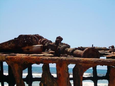 fraser: Fraser Island Shipwreck