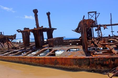 fraser island: Fraser Island Shipwreck