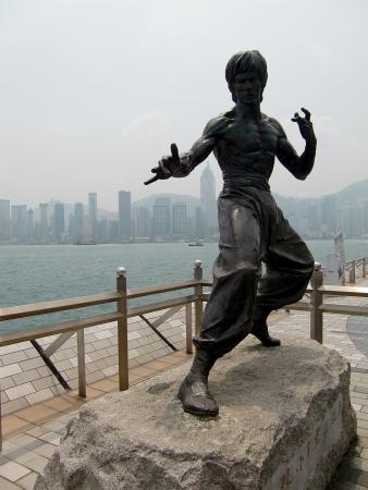 aikado: Bruce Lee Statue Hong Kong