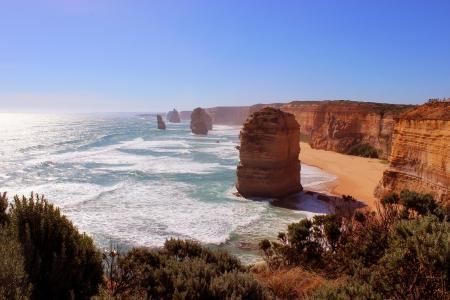 apostles: 12 apostles Victoria Australia Stock Photo