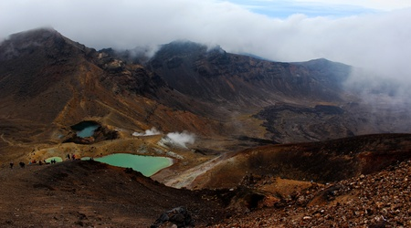 Tongariro Alpine Crossing, NZ photo