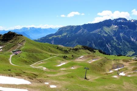 convulsión: Montañas suizas