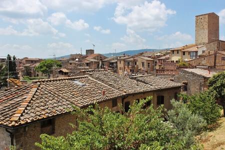 brick kiln: Italy Rooftops