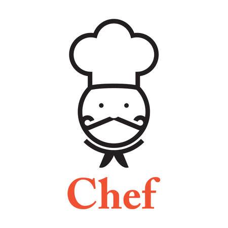 Chef Icon Illusztráció