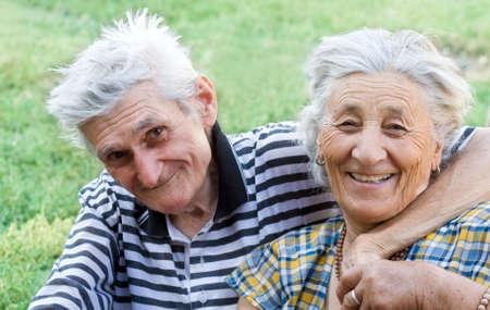 Love has no age - Happy senior couple Stock Photo - 3558938