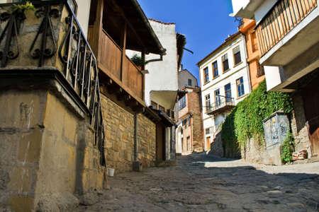 veliko: Traditional houses in medieval town of Veliko Tarnovo, Bulgaria