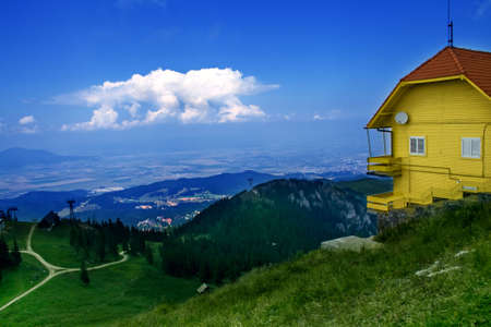 Amazing view from top of a mountain Stock Photo - 3822475