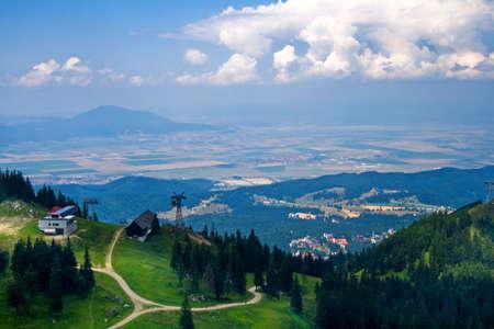 Amazing panoramic view of high mountain resort Stock Photo - 3842414