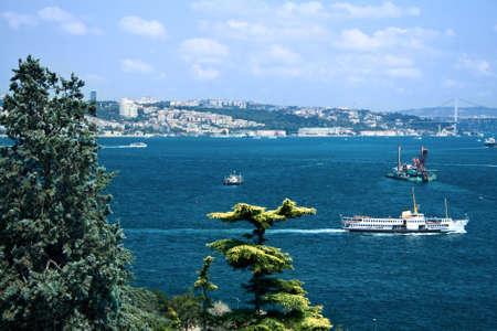 fantastic view: Fantastic view from Bosphorus strait, Istanbul, Turkey