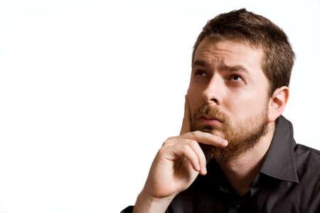 so�ando: Retrato de hombre de negocios serio guapo