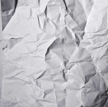 creased: Grunge background - crumpled blank gray paper
