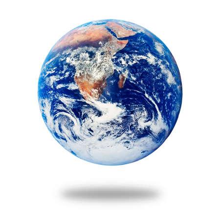 Planet Earth isolated on white background Reklamní fotografie